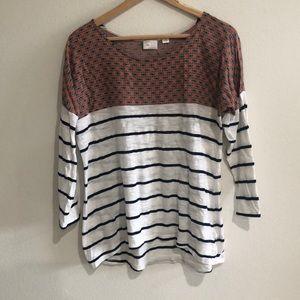 Anthropologie stripe shirt
